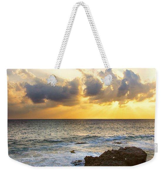 Kaena Point State Park Sunset 2 - Oahu Hawaii Weekender Tote Bag