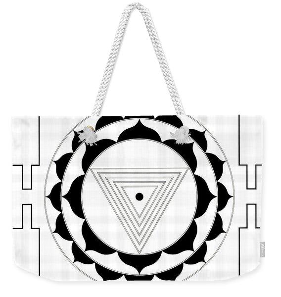 Kali Yantra Weekender Tote Bag