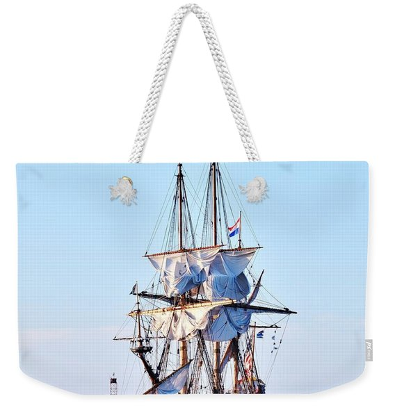 Kalmar Nyckel Tall Ship Weekender Tote Bag