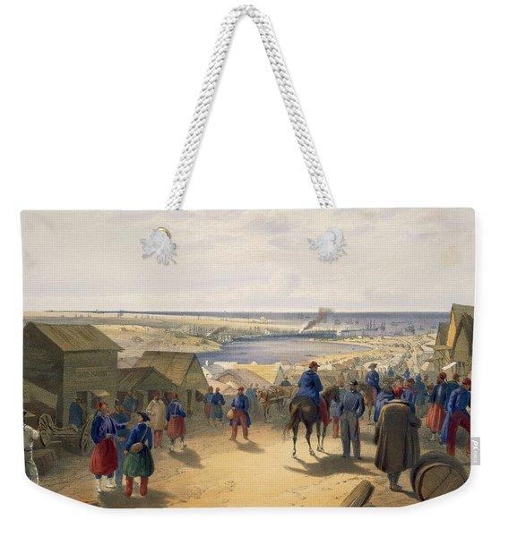 Kamiesch, Plate From The Seat Of War Weekender Tote Bag