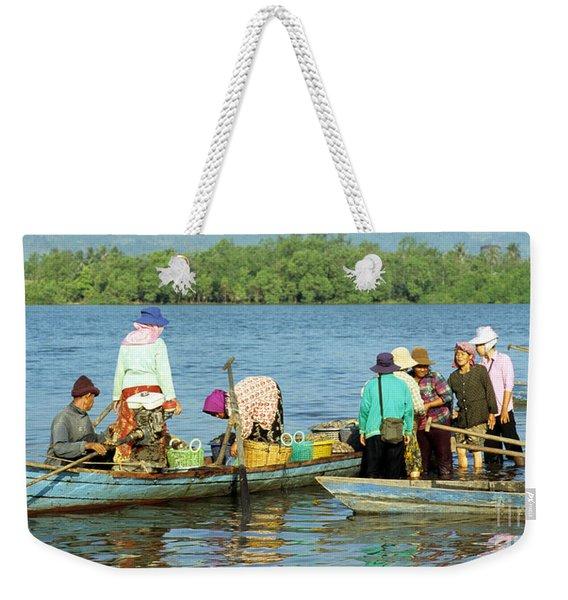 Kampot River Weekender Tote Bag