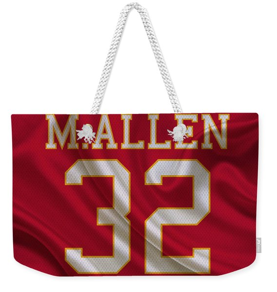 Kansas City Chiefs Marcus Allen Weekender Tote Bag
