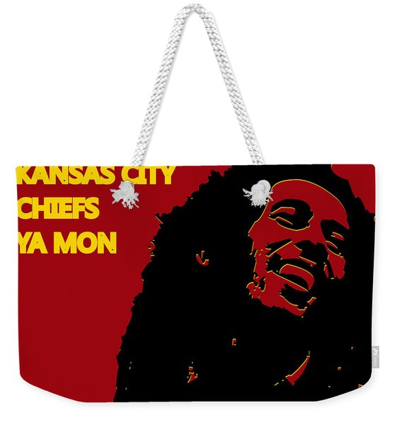 Kansas City Chiefs Ya Mon Weekender Tote Bag