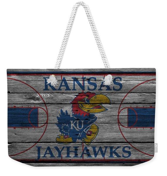 Kansas Jayhawks Weekender Tote Bag