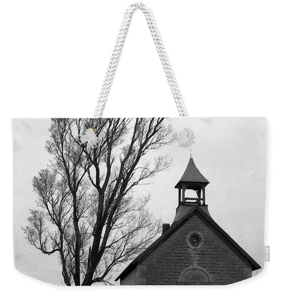 Kansas Schoolhouse Weekender Tote Bag