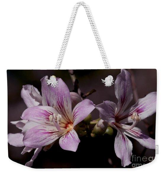 Kapok Bloom Weekender Tote Bag