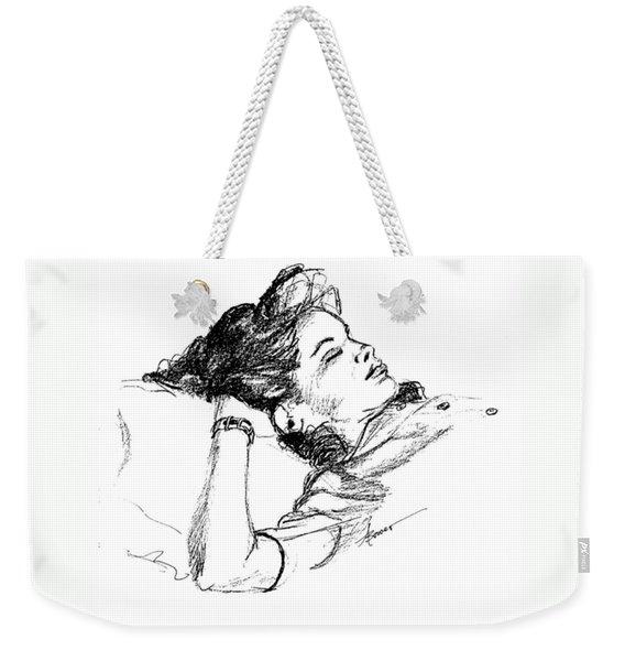Karen's Nap Weekender Tote Bag