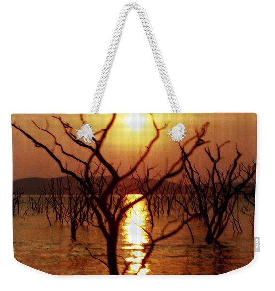 Kariba Sunset Weekender Tote Bag