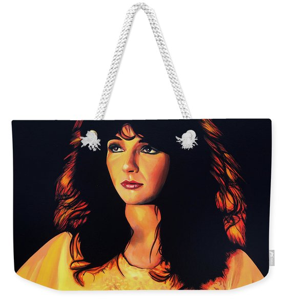 Kate Bush Painting Weekender Tote Bag