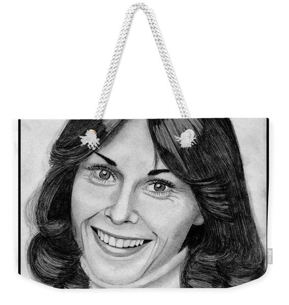 Kate Jackson In 1976 Weekender Tote Bag