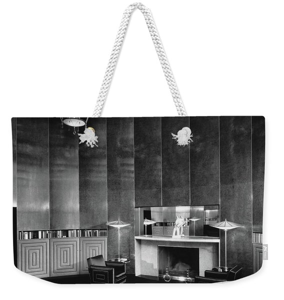 Katharine Brush's Study Weekender Tote Bag