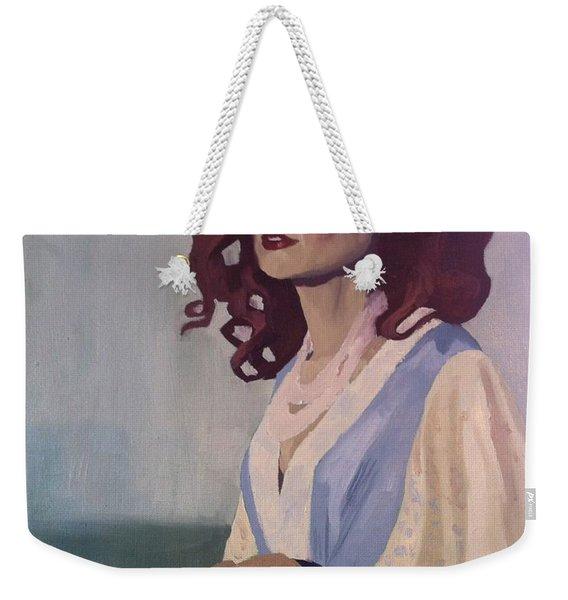 Katie - Teddy Bear Weekender Tote Bag