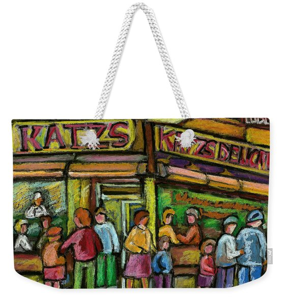 Katz's Deli Weekender Tote Bag