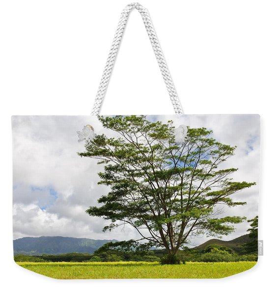 Kauai Umbrella Tree Weekender Tote Bag