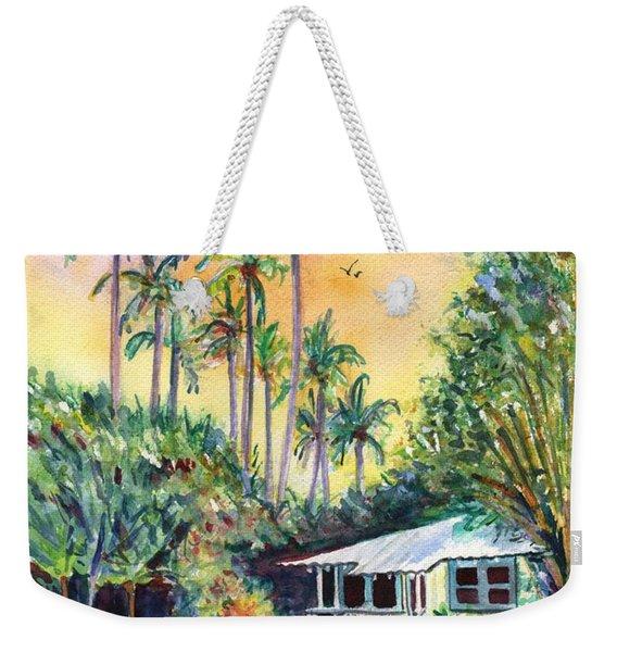 Kauai West Side Cottage Weekender Tote Bag
