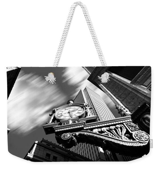 Kaufmann's Clock Weekender Tote Bag