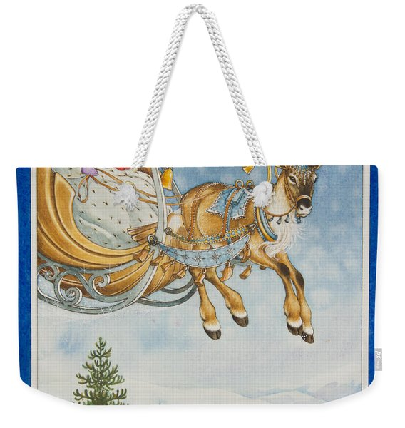 Kay And The Snow Queen Weekender Tote Bag