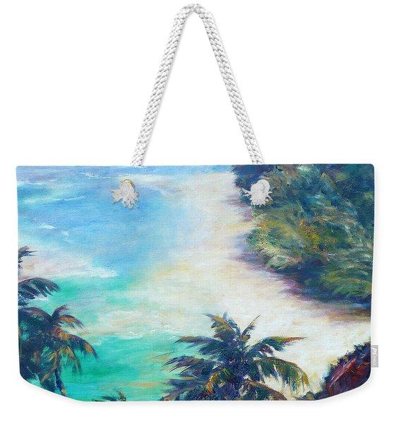 Kee Beach Weekender Tote Bag
