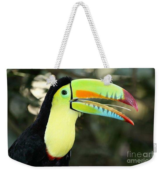Keel Billed Toucan Weekender Tote Bag