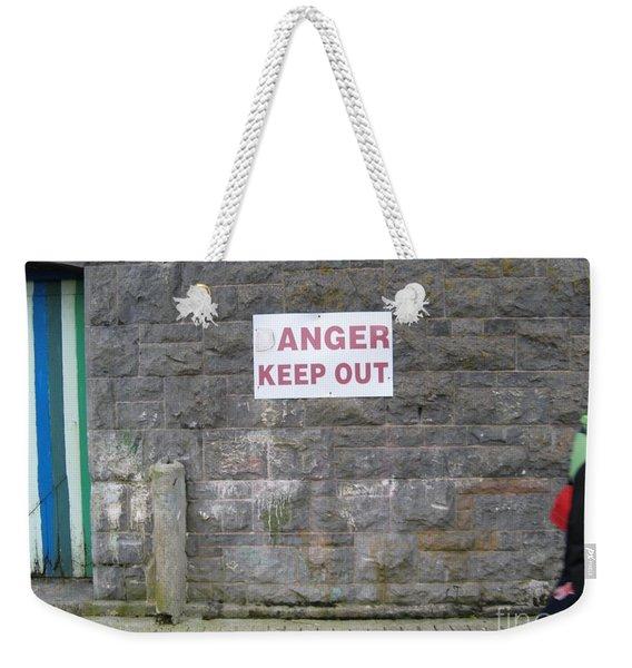 Keep Out Aran Islands Ireland Weekender Tote Bag