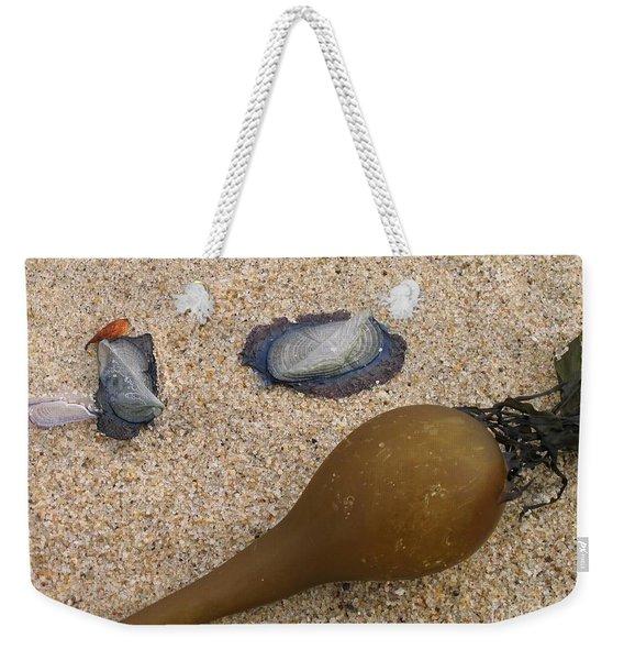 Kelp Float And Velella Weekender Tote Bag