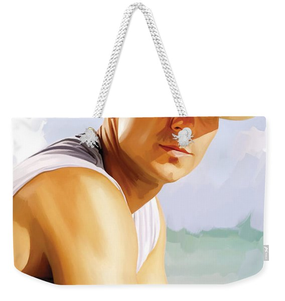 Kenny Chesney Artwork 2 Weekender Tote Bag
