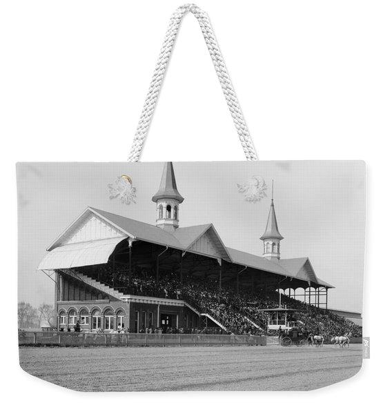 Kentucky Derby, 1901 Weekender Tote Bag