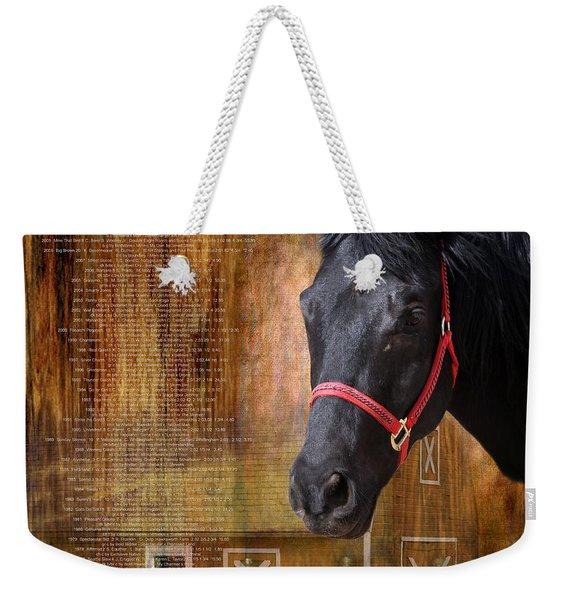 Kentucky Derby Winners Weekender Tote Bag