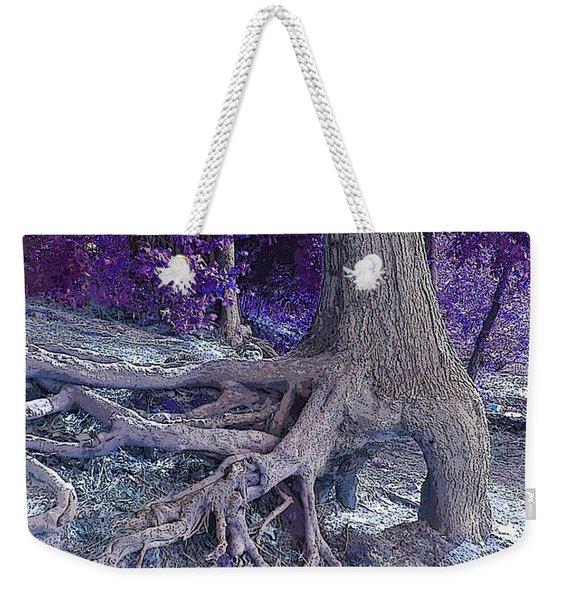 Kentucky Lake Roots Blue Weekender Tote Bag