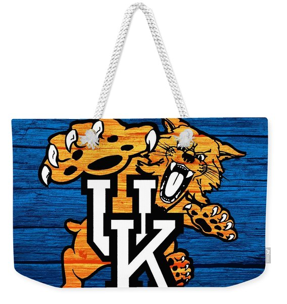 Kentucky Wildcats Barn Door Weekender Tote Bag