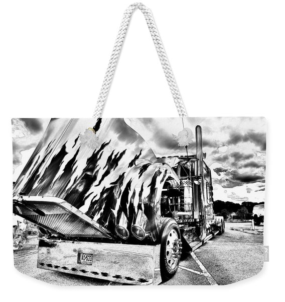Kenworth Rig Weekender Tote Bag