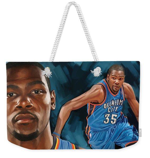 Kevin Durant Artwork Weekender Tote Bag