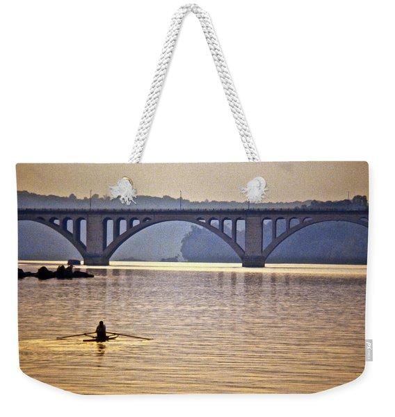 Key Bridge Rower Weekender Tote Bag