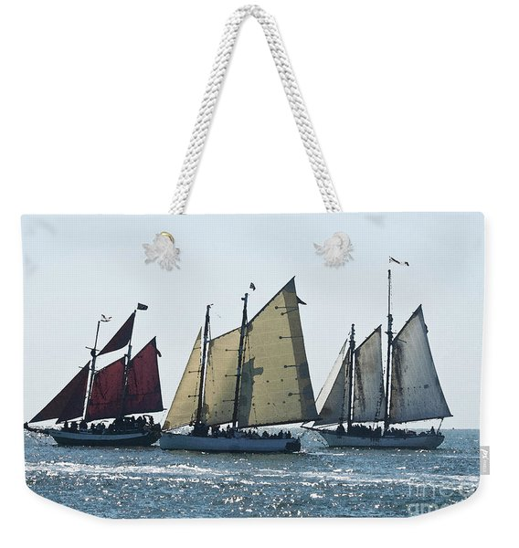 Key West Historic Navel Blockade  Weekender Tote Bag