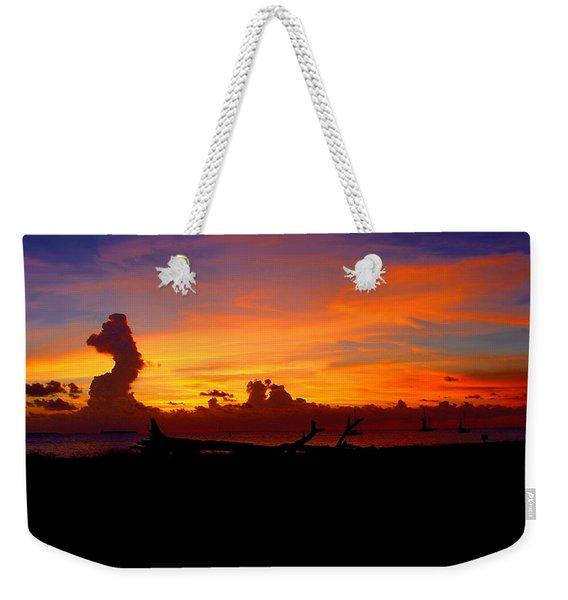 Key West Sun Set Weekender Tote Bag