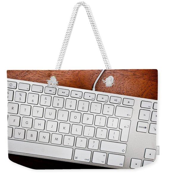 Keyboard Weekender Tote Bag