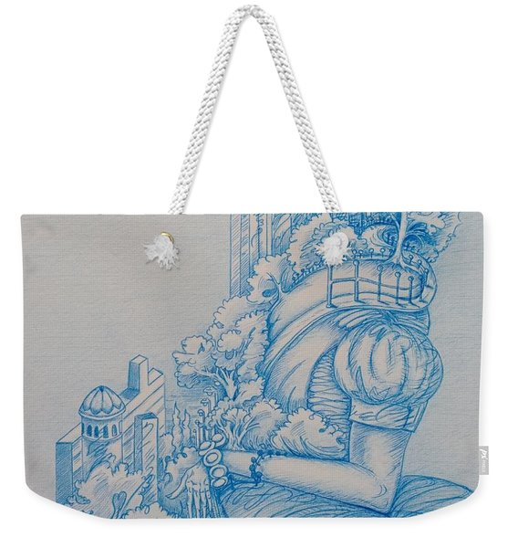 Keys To The City Weekender Tote Bag
