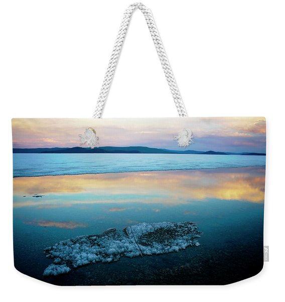 Khuvsgul Lake Weekender Tote Bag
