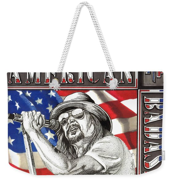 Kid Rock American Badass Weekender Tote Bag