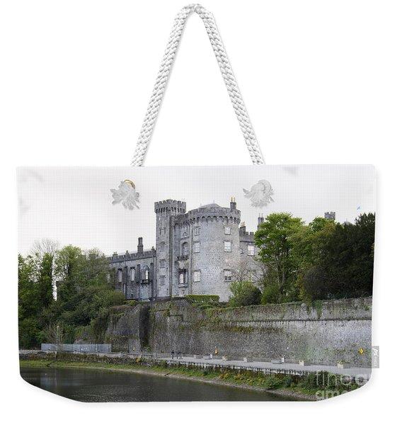 Kilkenny Castle Seen From River Nore Weekender Tote Bag