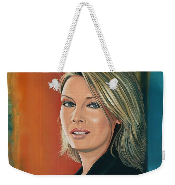 Kim Wilde Painting Weekender Tote Bag