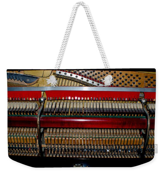 Kimball Chicago Piano Weekender Tote Bag