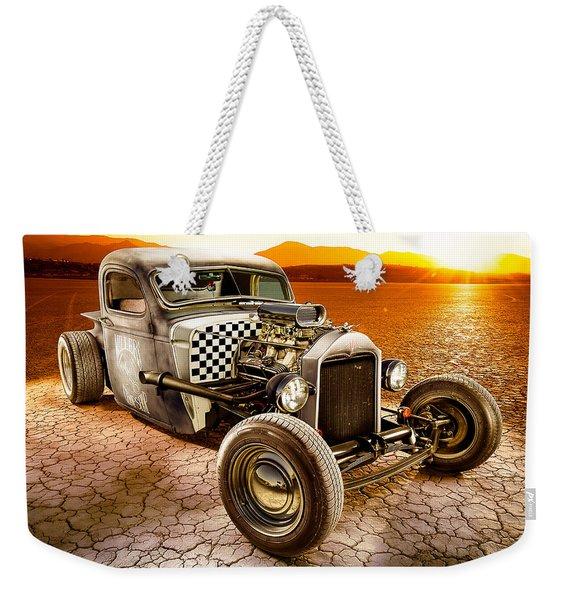 Millers Chop Shop 1946 Chevy Truck Weekender Tote Bag