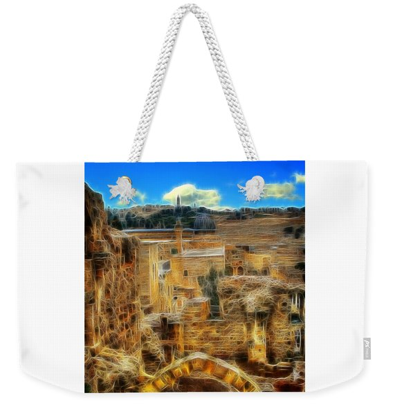 Peaceful Israel Weekender Tote Bag