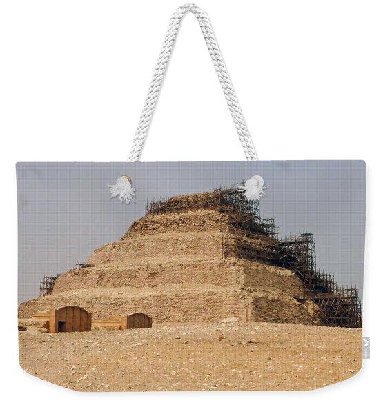 King Djoser The Great Of Saqqara Weekender Tote Bag