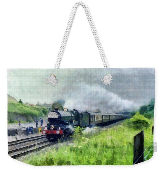 'king George V' Locomotive Weekender Tote Bag