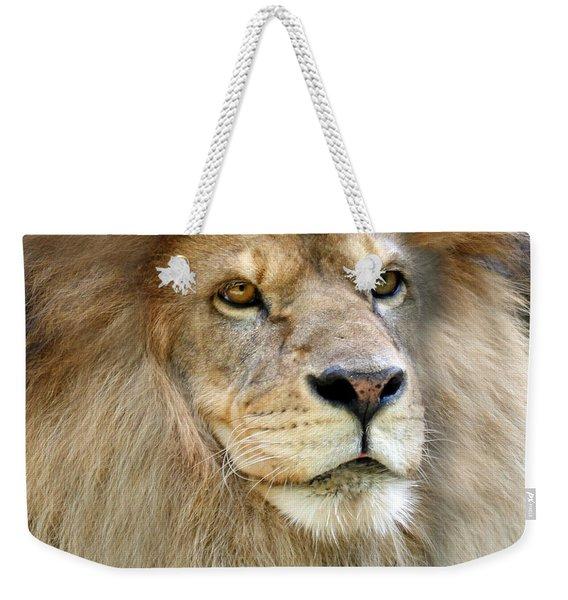 King Of The Beasts Weekender Tote Bag