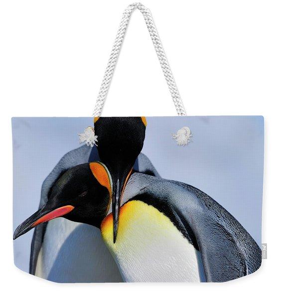 King Penguins Bonding Weekender Tote Bag