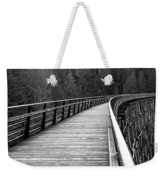 Kinsol Trestle Boardwalk  Weekender Tote Bag