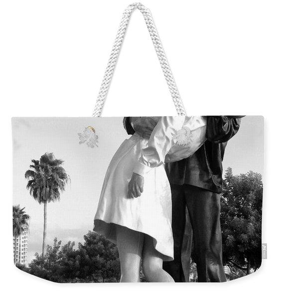 Kissing Sailor And Nurse Weekender Tote Bag